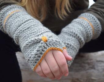 Sōlstice   Fingerless crochet gloves   PATTERN # 53