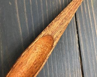 Hand-Made Oak Ramen Spoon