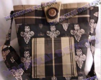 Custom - Signature Style with Pockets, Handbag, pockets, magnetic snap, adjustable, crossbody, shoulder strap, organizer, purse,