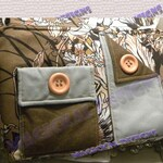 AQUA PEACH - Pockets, Pockets, Pockets, Handbag, inner   pockets, outer pockets, zipper, cloth, purse, shoulder, adjustable, strap, tote