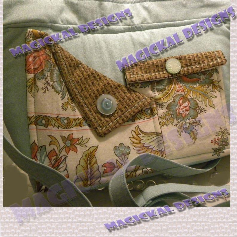 AQUA VINTAGE  Pockets Pockets Pockets Handbag inner image 0