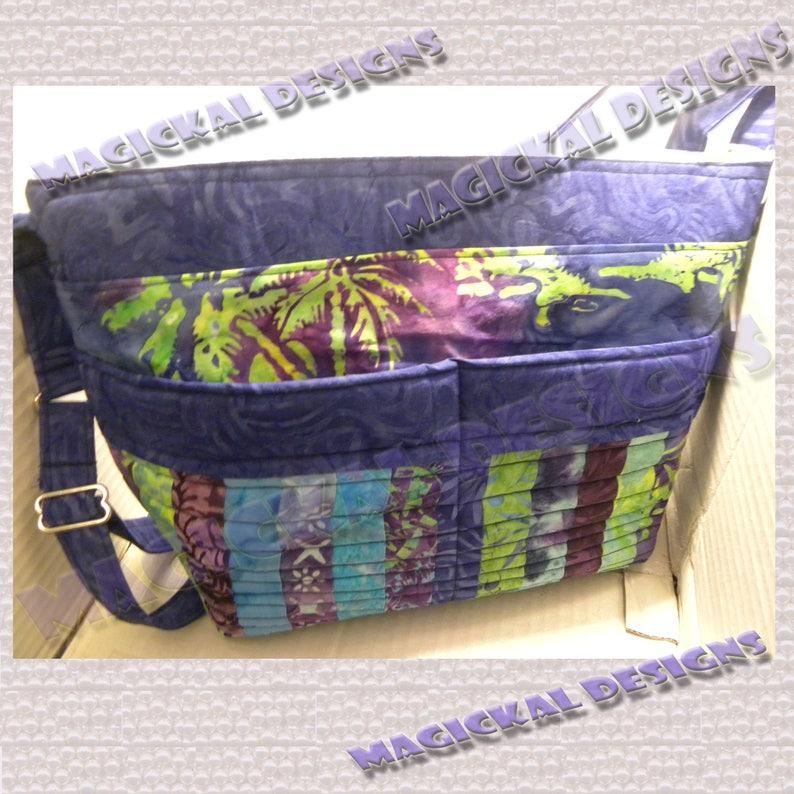 Custom Purse  Pockets Pockets Pockets Handbag  adjustable image 0