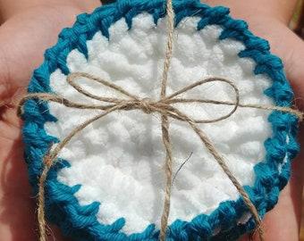 Crochet Facial Rounds**Face scrubbie**Reusable