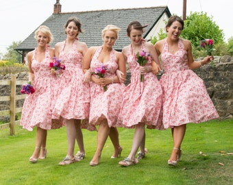 50's bridesmaid dresses