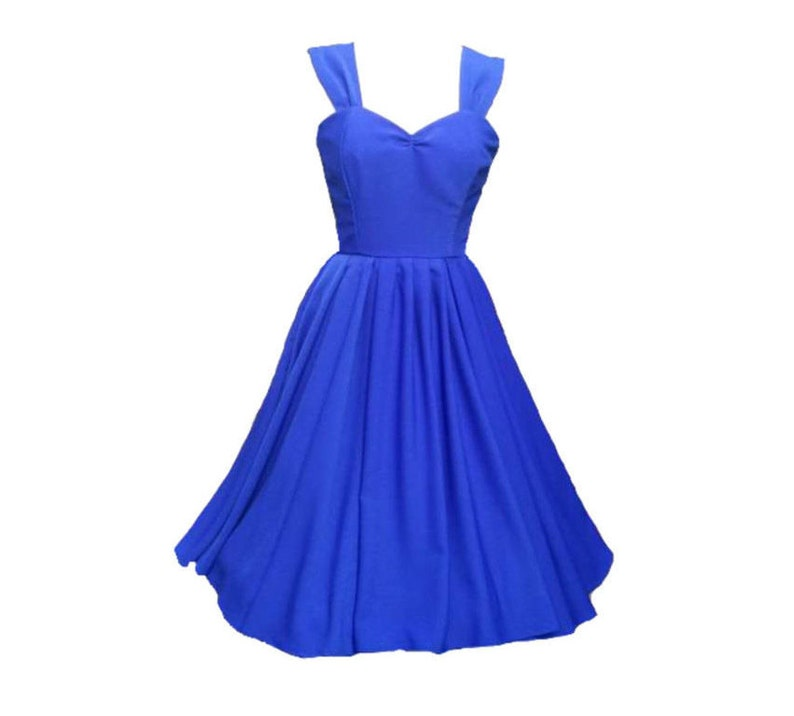Bleu Robe De Royal Dhonneur Etsy Demoiselle Robes vq4wr1vf