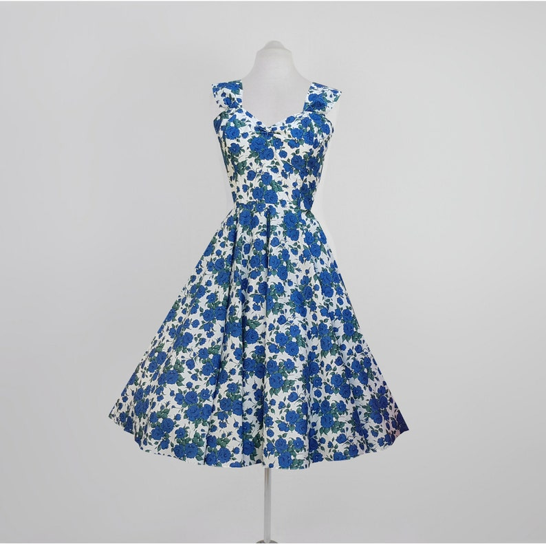 4248723bac Sukienka Róża Liberty Projektant Carline tkanina