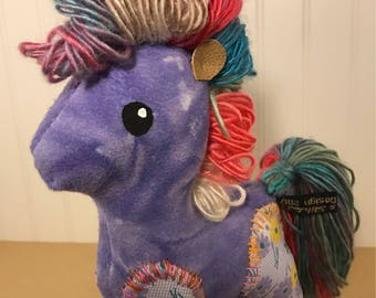 Horse of a Different Color- Purple