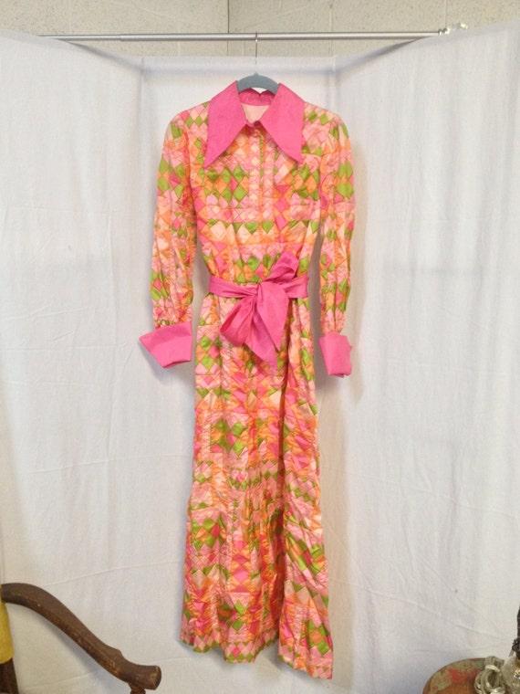 Groovy 70's Cocktail Dress