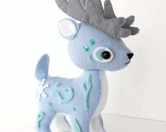 PDF Pattern - Felt Reindeer Plush