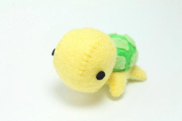 Pdf Pattern Felt Turtle Plush Etsy