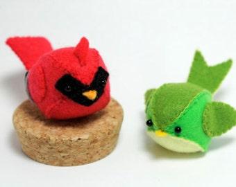 PDF Pattern - Felt Bird Plush