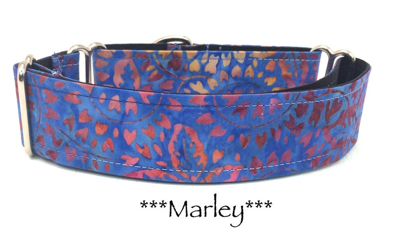 Martingale Dog Collar Purple Dog Collar Purple Martingale image 0