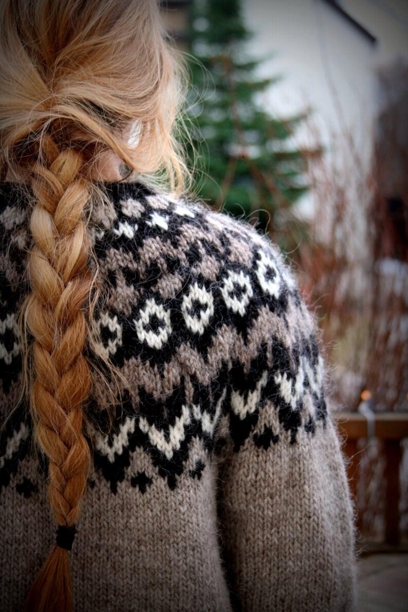 c7aa79e8e Icelandic Sweater Lopapeysa Handmade 100 % pure Wool