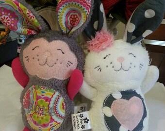 Bunny Rabbit Stuffed Softie Doll
