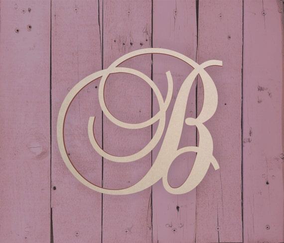Wooden Letters For Front Door Wooden Monogram Letter For Above Bed