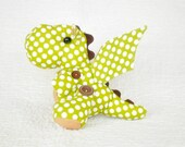Dalton the Dragon PDF Pattern  | Softie Pattern | Stuffed Animal | Children's Toy