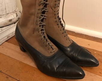 Victorian Womans Shoes