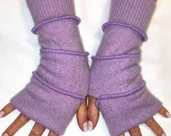 Cashmere hand warmer, soft gloves, Light gloves, Fingerless gloves , Hand warmers One size fits most -