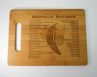 Unique Cutting Board Gift  Chili Pepper Lover Gift Hot Peppers Chili Cook Off Award Kitchen Art