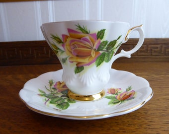 Vintage Royal Albert Sweetheart Roses MARGARET Circa 1980's