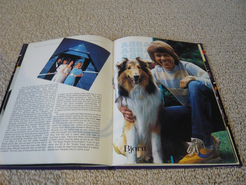 Official ABBA Annual 1983 45 Pages