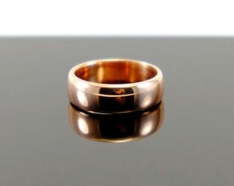 Cast shibuichi ring
