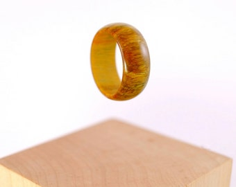 Ironwood wooden ring