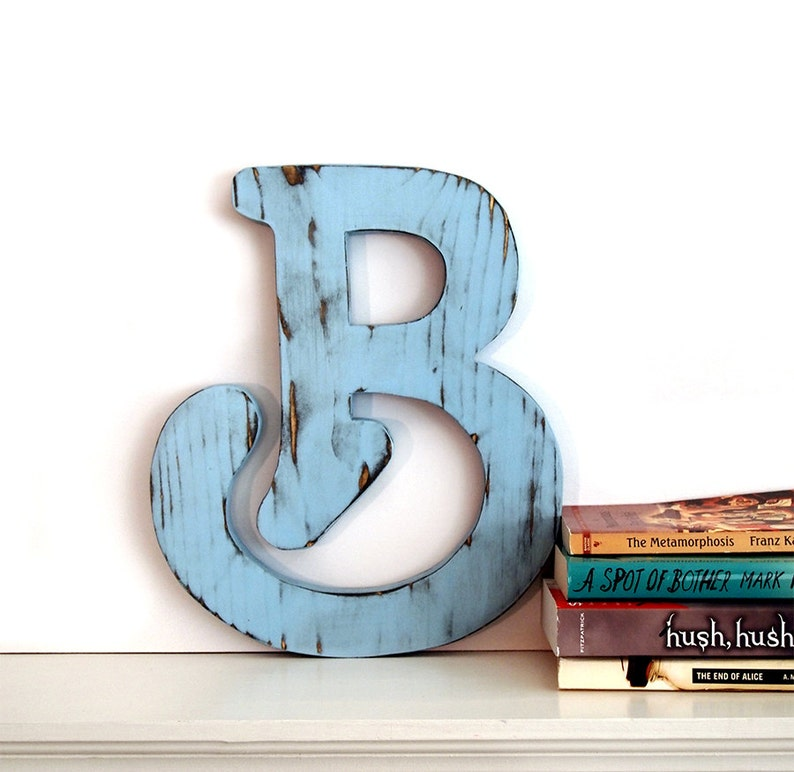Letter B Wall Decor Rustic Wall Letter Large Wooden Letters Dorm Room Decor Apartment Decor Master Bedroom Decor Teacher Gift Ideas
