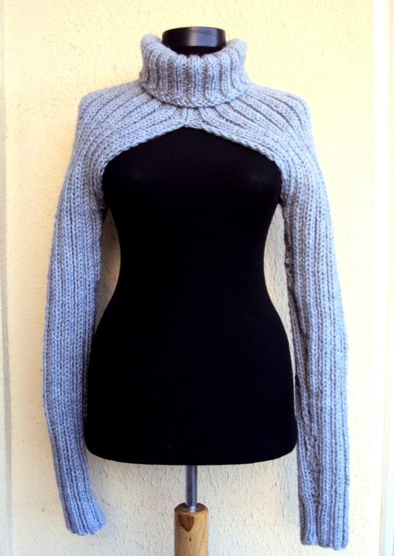 Sales 20 Off Knit Sweater Shrug Bolero Debra Wilson Sweater Etsy