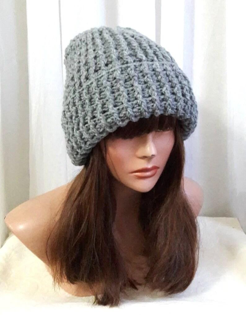 98e6fdea8a6ea Men/Women Crochet Winter Hat Ski Hat Snowboard Hat Knit Beanie | Etsy