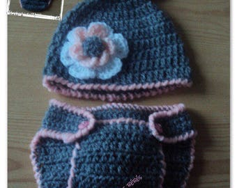 "Costume ""rabbit"" baby 100% handmade (only on order)"