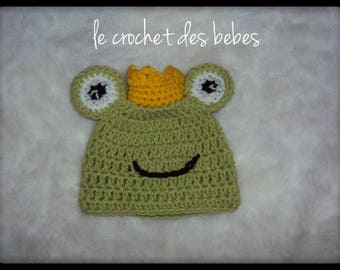 """made to order"" baby frog Hat"