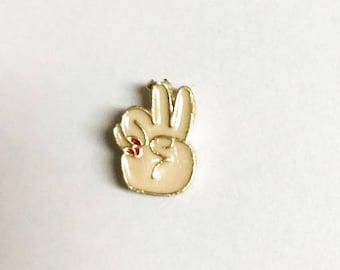 Peace Hippie Pin