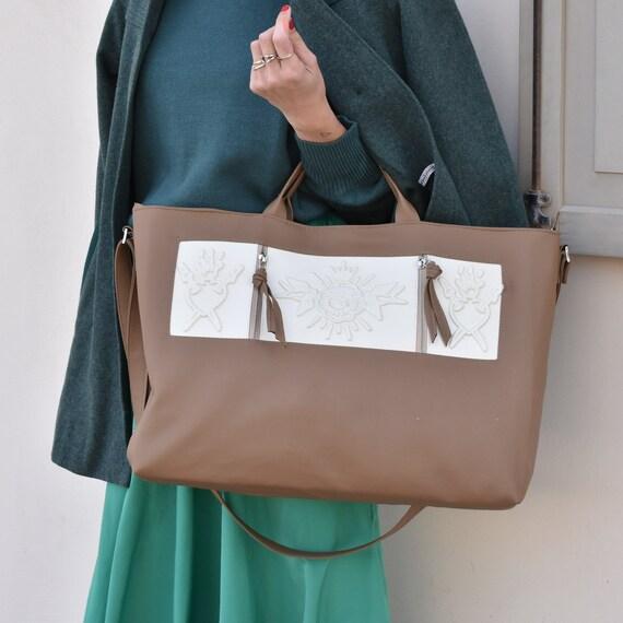 8f7ae3d68764 Big brown crossbody bag