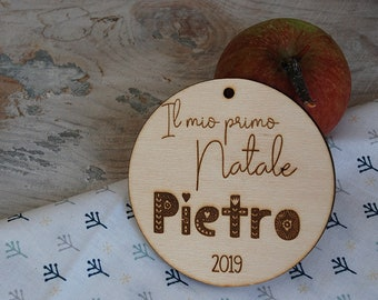 Baby's first Christmas ornament personalized. My 1st Christmas. New baby ornament. Baby 1st Christmas ornament. Custom tree ornament