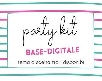 Digital party kit