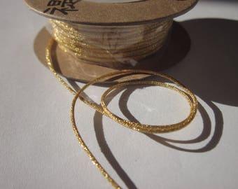 shiny glitter Gold 1 mm wire dangles (35)