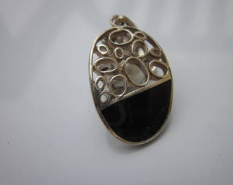 """Pendant with agate and """"925"""" (38)"""