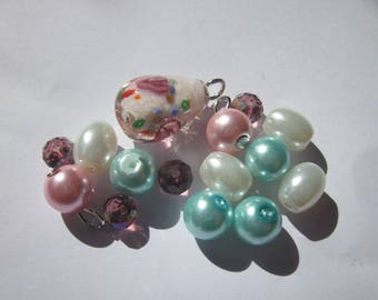 15 pearls glass 6-16 mm (AB13)