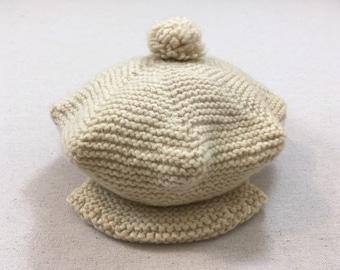 2095ed99a96d7 Knit beret brim