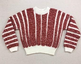 Handknit 80s sweater | Etsy