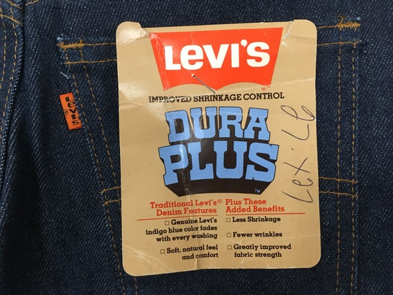 1970's, Levi's, dark denim, bell bottoms, size 27… - image 9