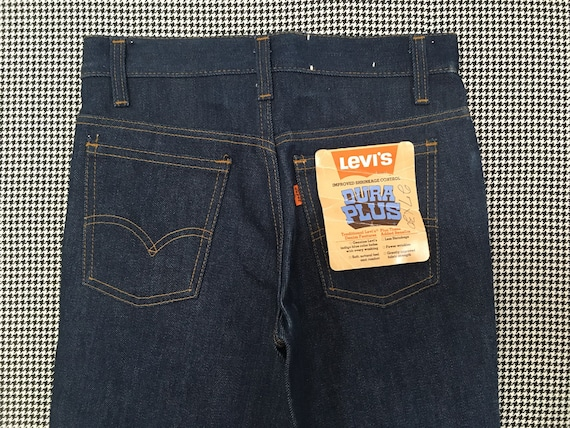 1970's, Levi's, dark denim, bell bottoms, size 27… - image 8