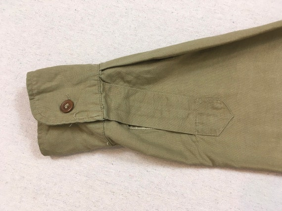 1960's, Staff Sergeant, Military shirt, in khaki - image 9