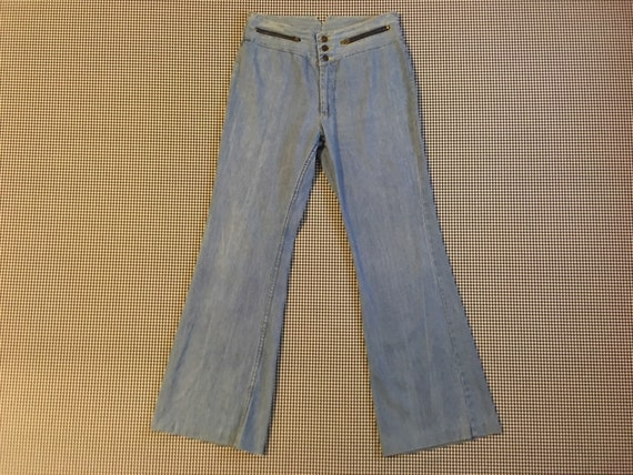 1970's, bell bottom, jeans, by Faded Glory, Women'