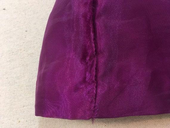 1990's, strapless, big bow, formal, mini-dress, i… - image 10