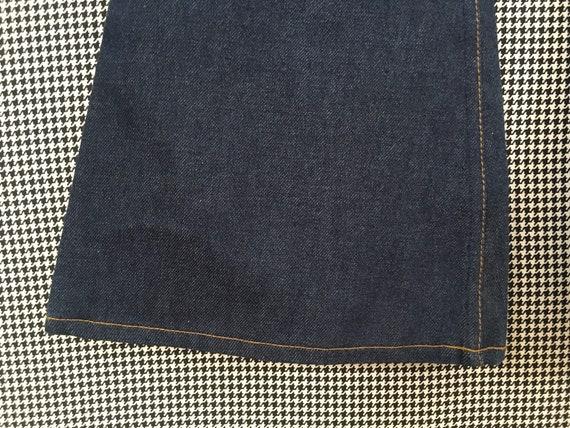 1970's, Levi's, dark denim, bell bottoms, size 25… - image 4