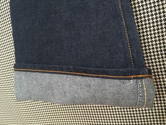 1970's, Levi's, dark denim, bell bottoms, size 25… - image 5