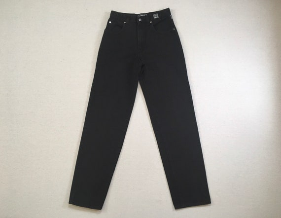 1990's, black jeans, by Versace