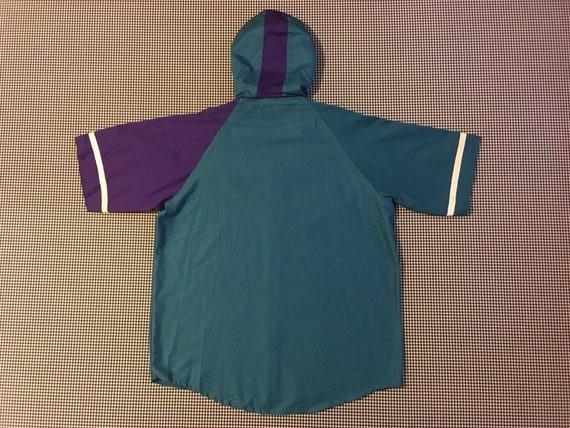 1990, Charlotte Hornets, à capuche en jersey et shorts turquoise, ensemble, en turquoise, shorts violet et blanc, taille de homme Large/XL 4b0414